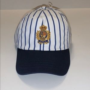 Polo Ralph Lauren Striped Crest Baseball Hat